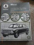 Autobooks Owners workshop Manual - Austin Maxi, Leyland Maxi