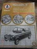 Autobooks Owners workshop Manual - Renault 4 - 1961-1979