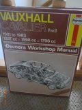 Haynes Owners Workshop Manual Vauxhall Cavalier 1981 to 1983