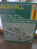 Haynes Owners Workshop Manual Vauxhall Astra 1980 to 1983