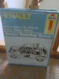 Haynes Owners Workshop Manual Renault 5 - 1972 to 1979