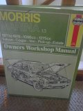 Haynes Owners Workshop Manual Morris Marina 1.3 1971 to 1978