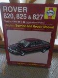 Haynes Service & repair manual - Rover 820, 825 & 827 - 1986-1995
