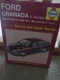 Haynes Service & repair manual - Ford Granada & Scorpio March 1985-94