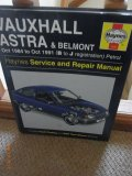 Haynes Service & repair manual - Vauxhall Astra & Belmont - Oct 1984-Oct 1991